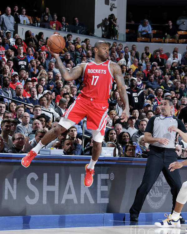 Nba Pro Basketball Poster featuring the photograph P.j. Tucker by Ron Hoskins