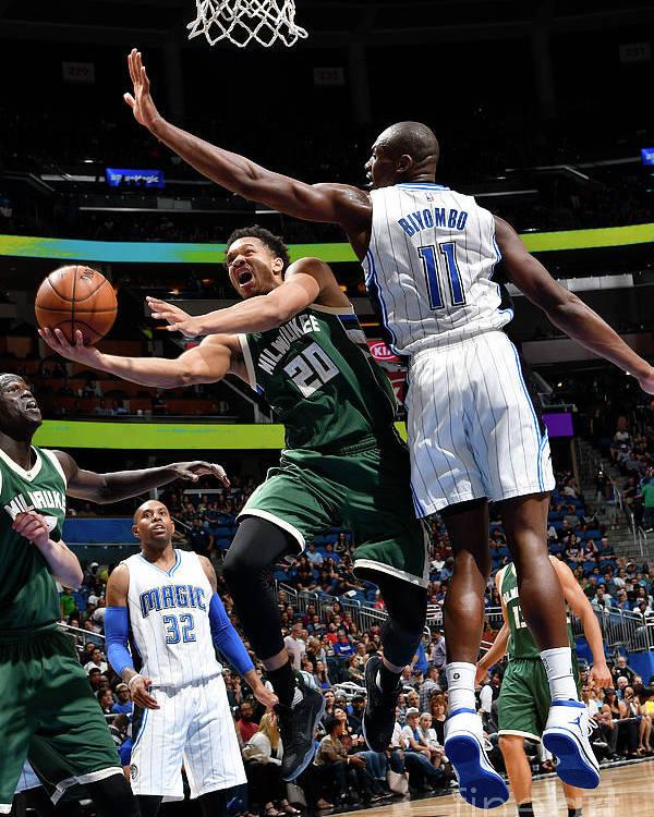 Nba Pro Basketball Poster featuring the photograph Rashad Vaughn by Fernando Medina