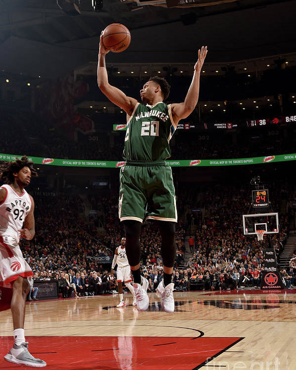 Nba Pro Basketball Poster featuring the photograph Rashad Vaughn by Ron Turenne