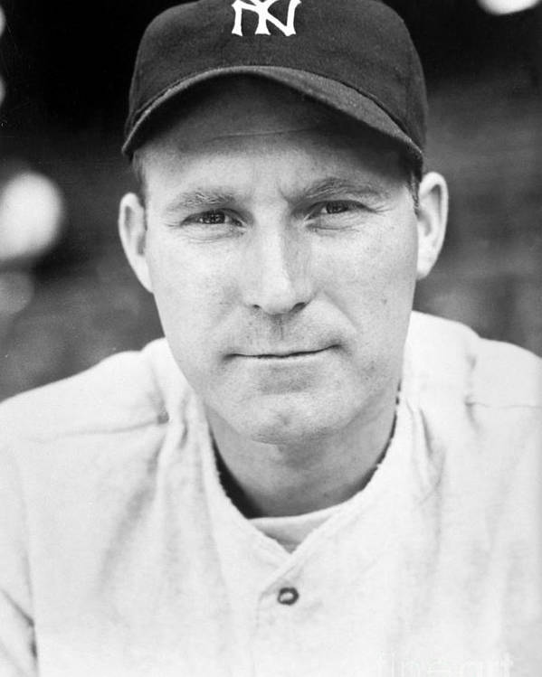 American League Baseball Poster featuring the photograph Red Ruffing by National Baseball Hall Of Fame Library