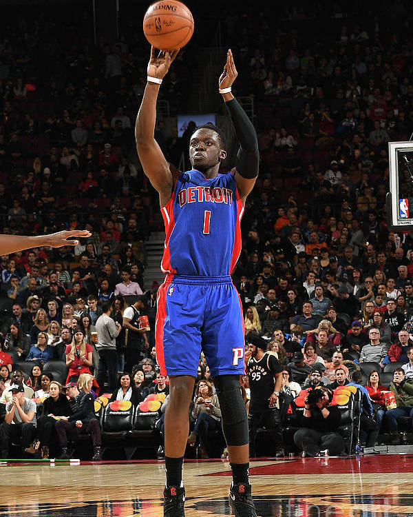 Nba Pro Basketball Poster featuring the photograph Reggie Jackson by Ron Turenne