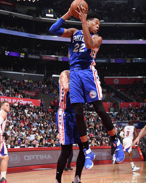 Nba Pro Basketball Poster featuring the photograph Richaun Holmes by Andrew D. Bernstein