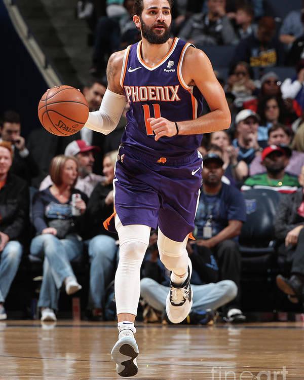 Nba Pro Basketball Poster featuring the photograph Ricky Rubio by Joe Murphy