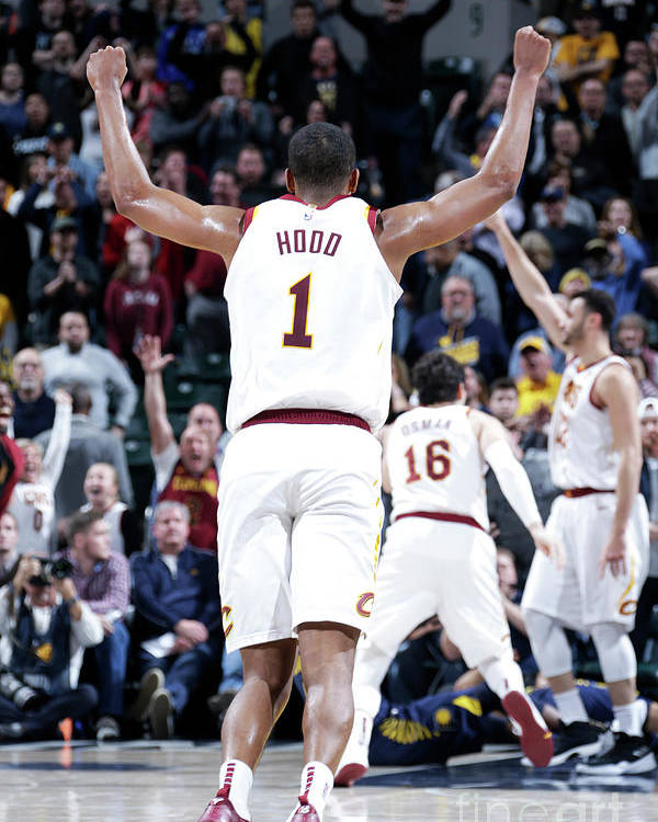 Nba Pro Basketball Poster featuring the photograph Rodney Hood by Ron Hoskins