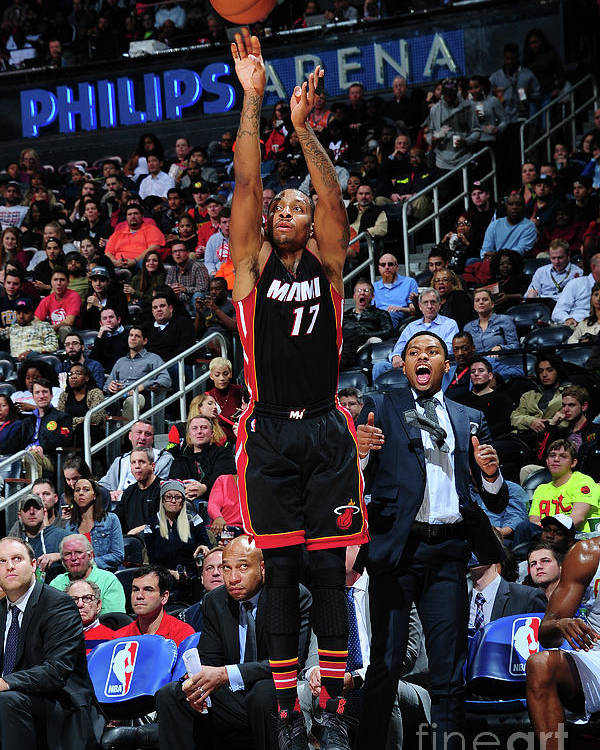 Atlanta Poster featuring the photograph Rodney Mcgruder by Scott Cunningham