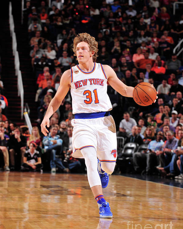Nba Pro Basketball Poster featuring the photograph Ron Baker by Barry Gossage