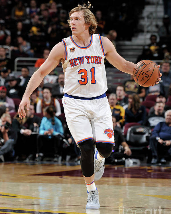 Nba Pro Basketball Poster featuring the photograph Ron Baker by David Liam Kyle