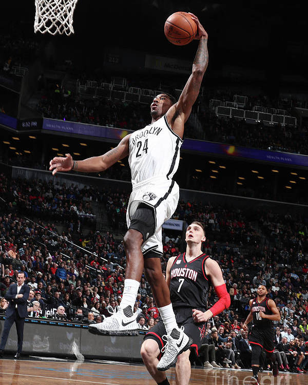 Nba Pro Basketball Poster featuring the photograph Rondae Hollis-jefferson by Nathaniel S. Butler