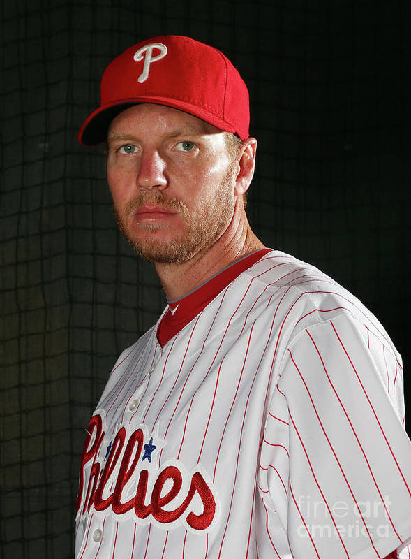 People Poster featuring the photograph Roy Halladay by Elsa