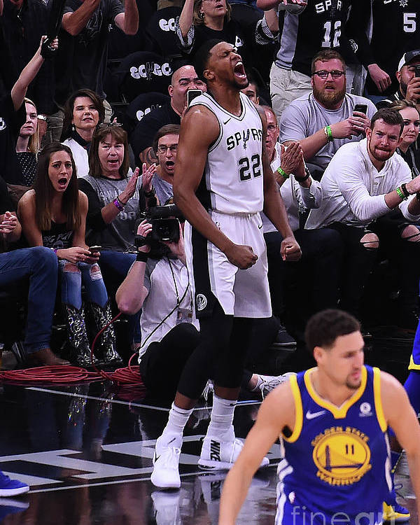 Playoffs Poster featuring the photograph Rudy Gay by Noah Graham