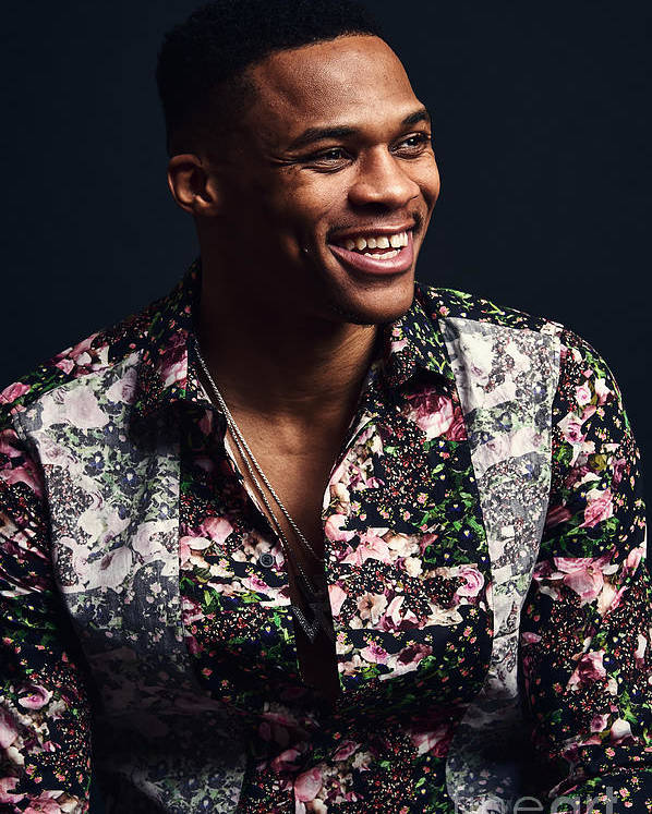 Event Poster featuring the photograph Russell Westbrook by Jennifer Pottheiser