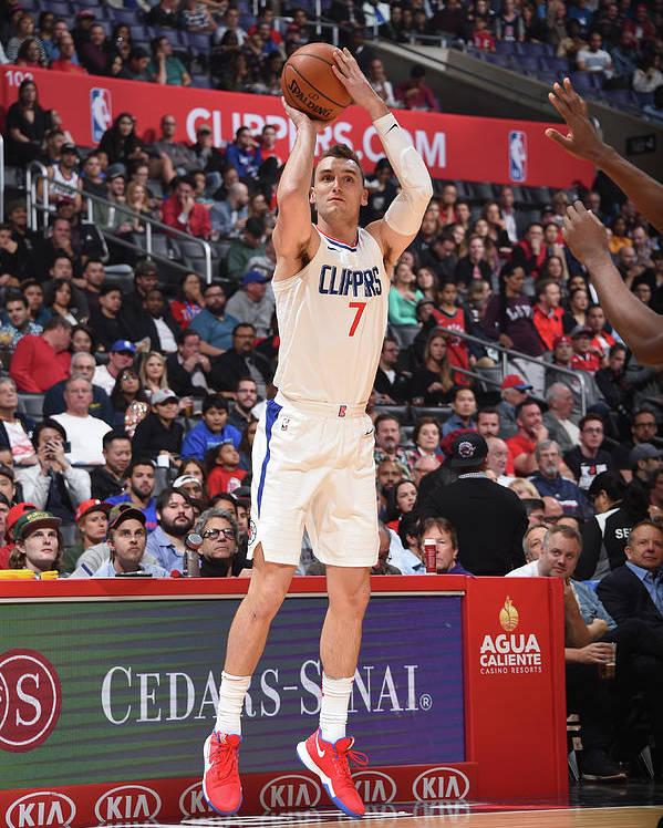 Nba Pro Basketball Poster featuring the photograph Sam Dekker by Andrew D. Bernstein