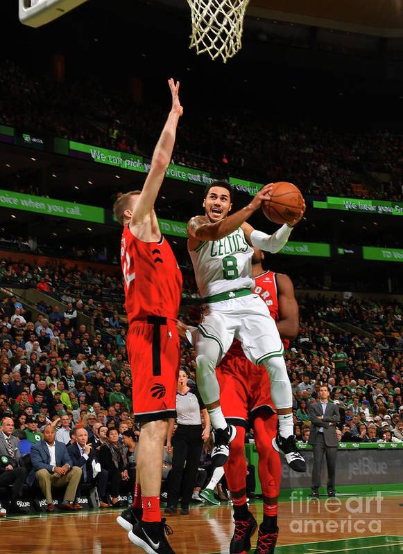 Nba Pro Basketball Poster featuring the photograph Shane Larkin by Jesse D. Garrabrant