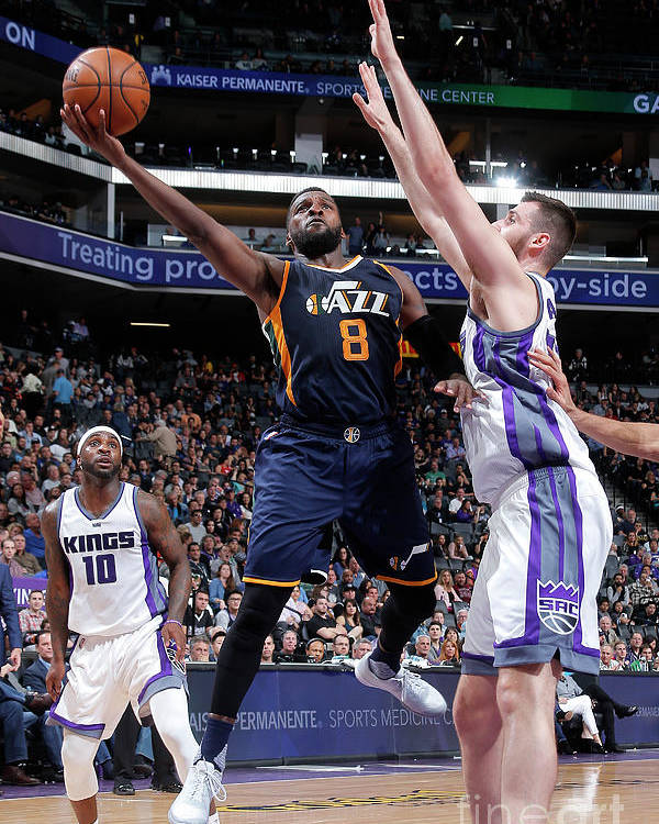 Nba Pro Basketball Poster featuring the photograph Shelvin Mack by Rocky Widner