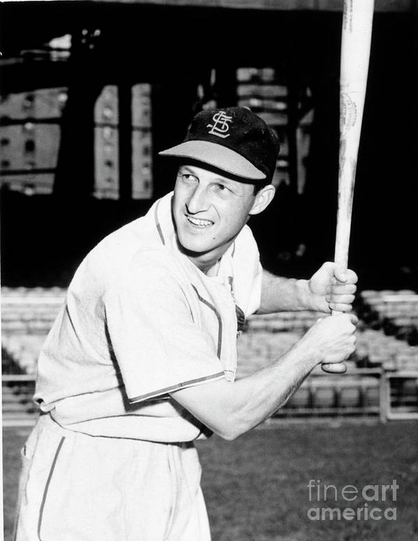 Professional Sport Poster featuring the photograph Stan Musial by National Baseball Hall Of Fame Library