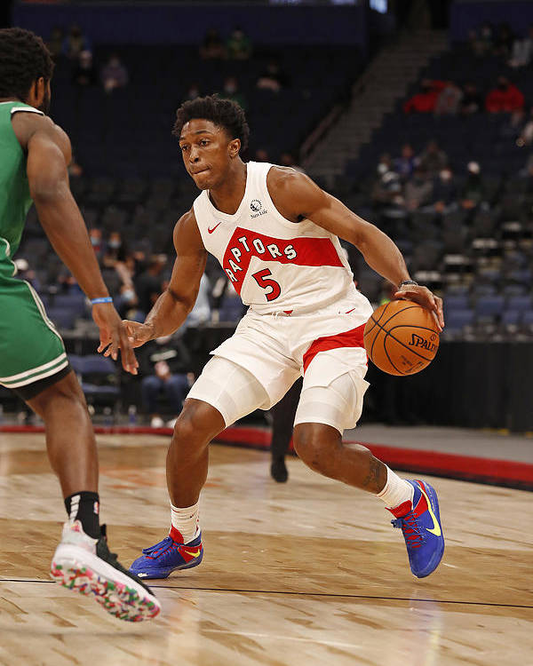 Nba Pro Basketball Poster featuring the photograph Stanley Johnson by Scott Audette