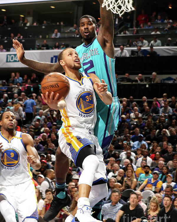 Nba Pro Basketball Poster featuring the photograph Stephen Curry by Brock Williams-smith