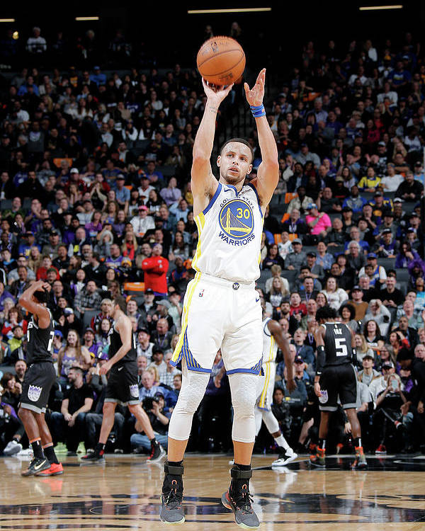 Nba Pro Basketball Poster featuring the photograph Stephen Curry by Rocky Widner