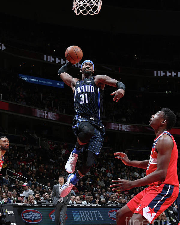 Nba Pro Basketball Poster featuring the photograph Terrence Ross by Stephen Gosling