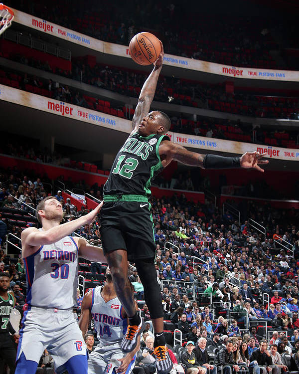 Nba Pro Basketball Poster featuring the photograph Terry Rozier by Brian Sevald
