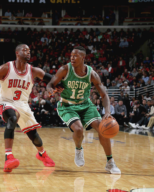 Nba Pro Basketball Poster featuring the photograph Terry Rozier by Gary Dineen