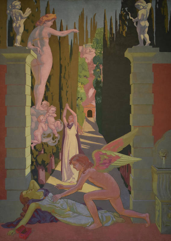 Ivan Morozov Commission Poster featuring the painting The Vengeance of Venus by Maurice Denis