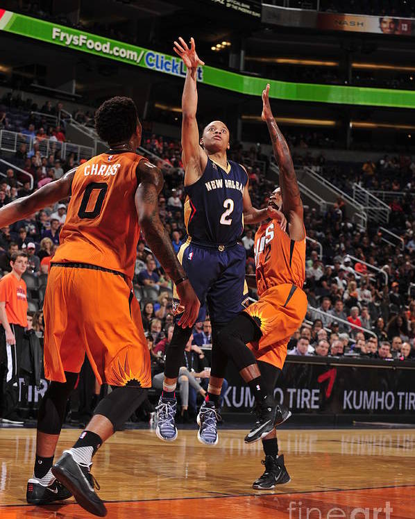 Nba Pro Basketball Poster featuring the photograph Tim Frazier by Barry Gossage