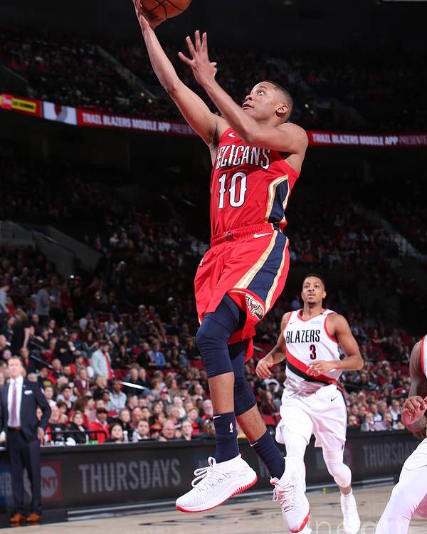 Nba Pro Basketball Poster featuring the photograph Tim Frazier by Sam Forencich