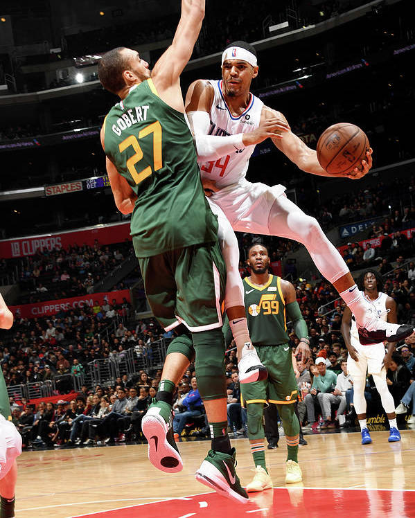 Nba Pro Basketball Poster featuring the photograph Tobias Harris by Andrew D. Bernstein