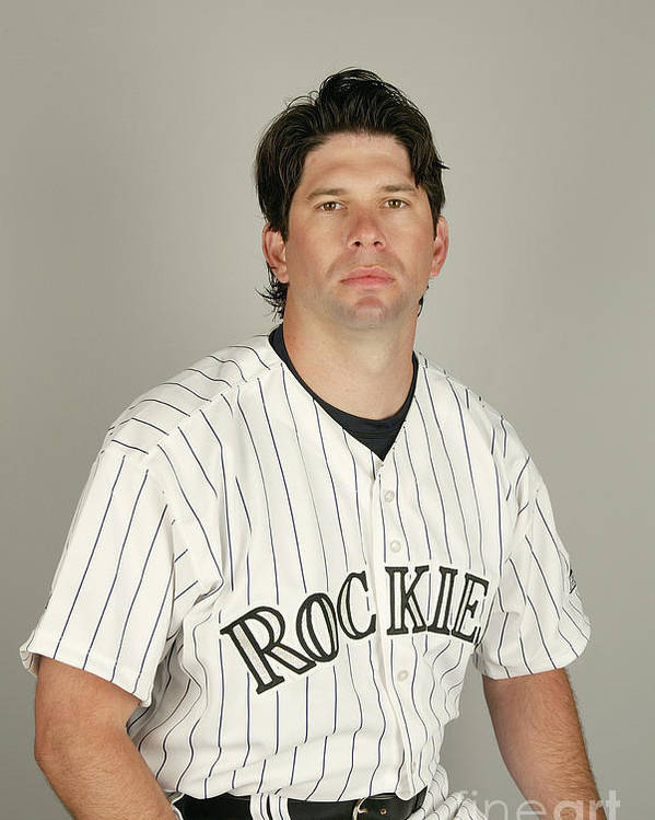 Media Day Poster featuring the photograph Todd Helton by Harry How