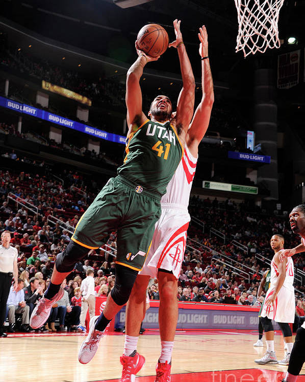 Nba Pro Basketball Poster featuring the photograph Trey Lyles by Bill Baptist