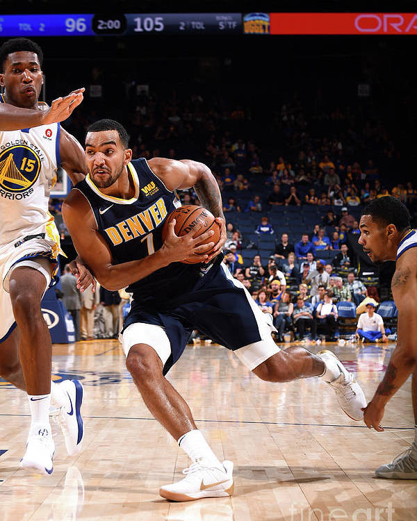 Nba Pro Basketball Poster featuring the photograph Trey Lyles by Noah Graham