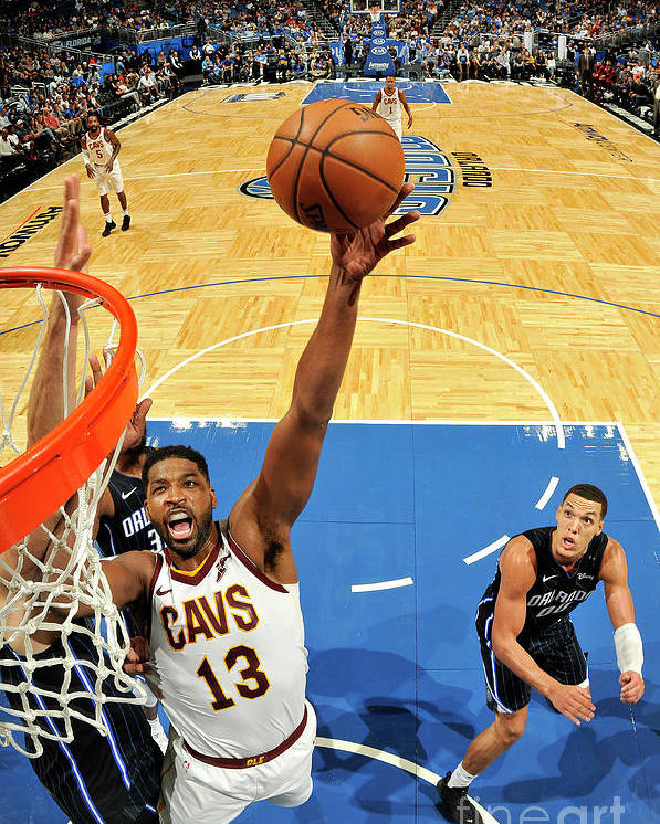 Nba Pro Basketball Poster featuring the photograph Tristan Thompson by Fernando Medina