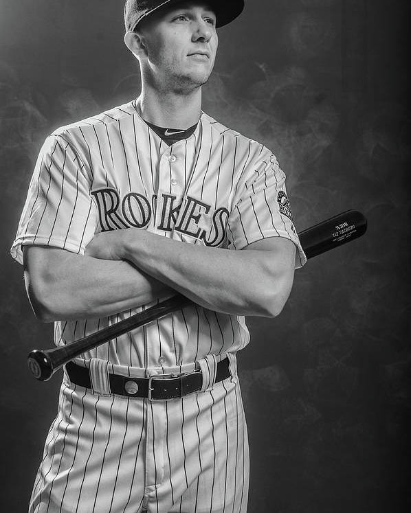 Media Day Poster featuring the photograph Troy Tulowitzki by Rob Tringali