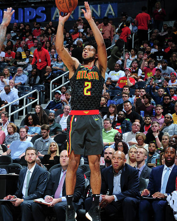 Atlanta Poster featuring the photograph Tyler Dorsey by Scott Cunningham