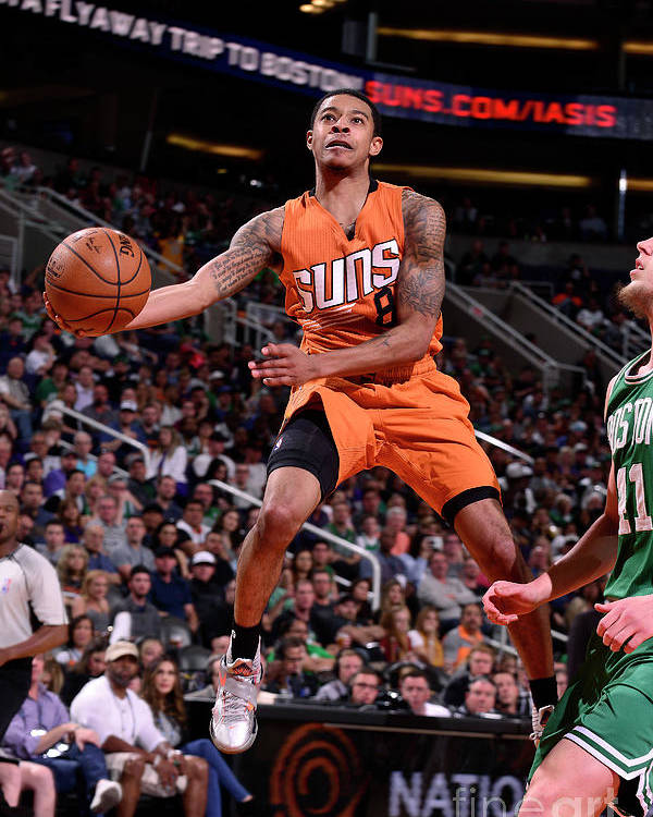 Nba Pro Basketball Poster featuring the photograph Tyler Ulis by Barry Gossage