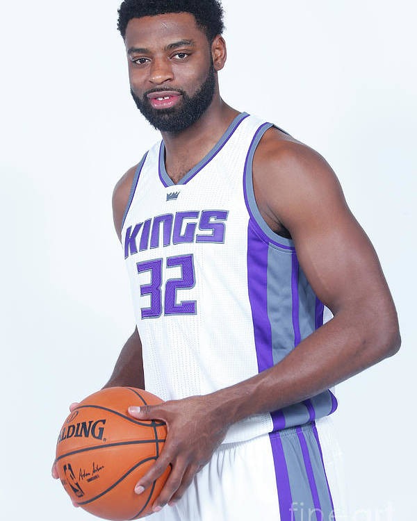 Nba Pro Basketball Poster featuring the photograph Tyreke Evans by Rocky Widner