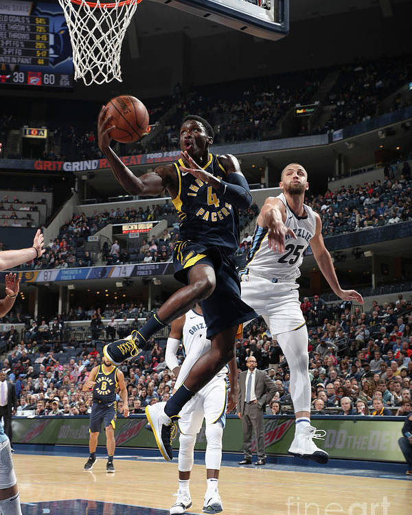 Nba Pro Basketball Poster featuring the photograph Victor Oladipo by Joe Murphy