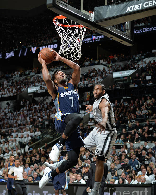 Playoffs Poster featuring the photograph Wayne Selden by Mark Sobhani