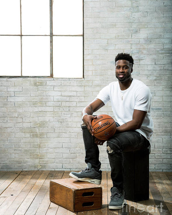 Nba Pro Basketball Poster featuring the photograph Wesley Matthews by Nathaniel S. Butler