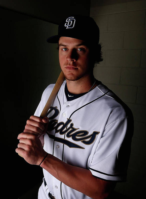 Media Day Poster featuring the photograph Wil Myers by Christian Petersen