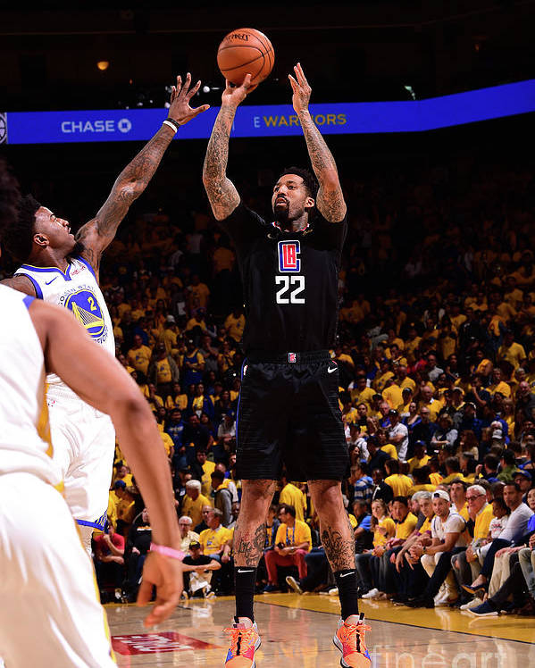 Playoffs Poster featuring the photograph Wilson Chandler by Noah Graham