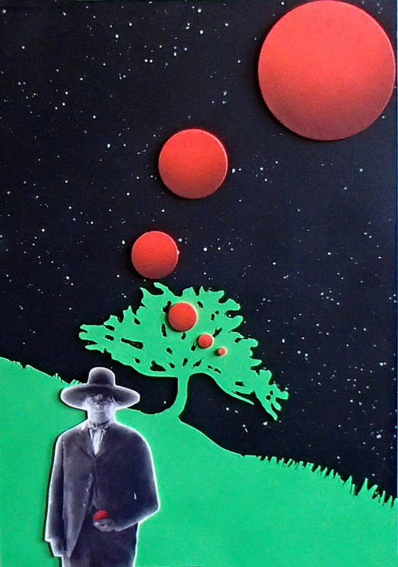 Wovoka Poster featuring the painting Wovoka by Philip Fleischer