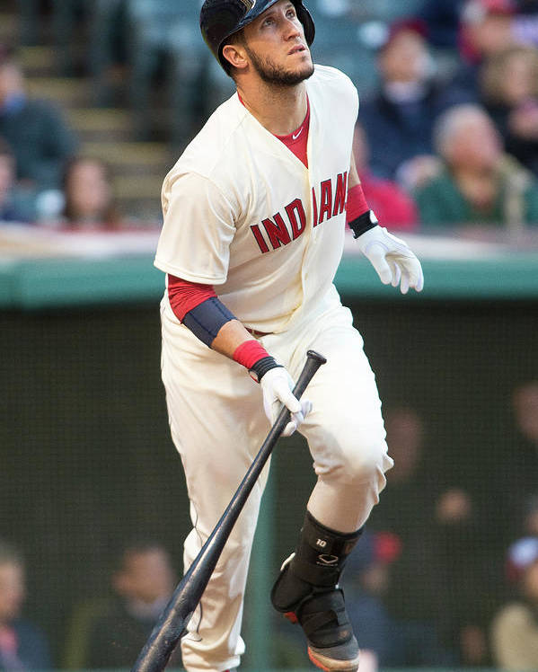 Second Inning Poster featuring the photograph Yan Gomes by Jason Miller