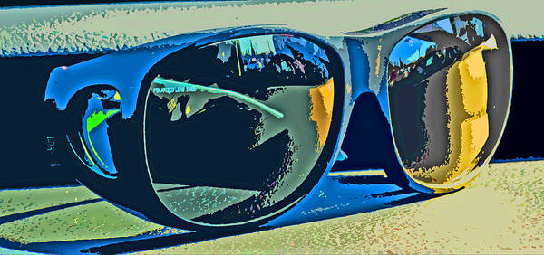 Sunglasses Poster featuring the photograph Shades by Ian MacDonald