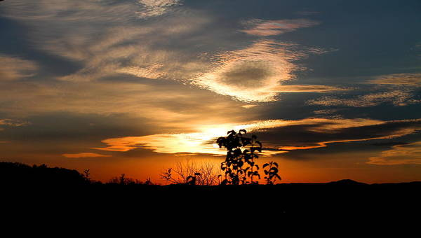Sunset Poster featuring the photograph Simplistic Beauty by Candice Trimble