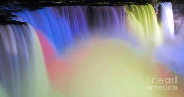 Niagara Poster featuring the photograph Abstract Falls by Kathleen Struckle