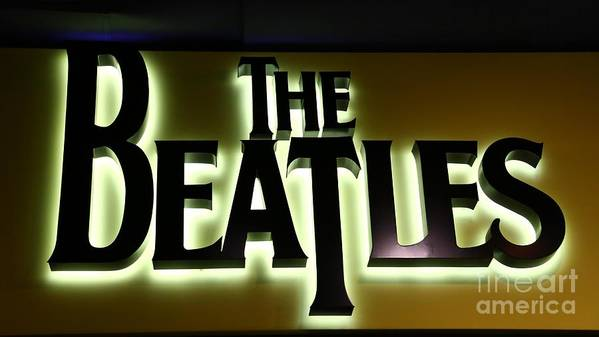 Beatles Poster featuring the photograph The Beatles by Douglas Sacha