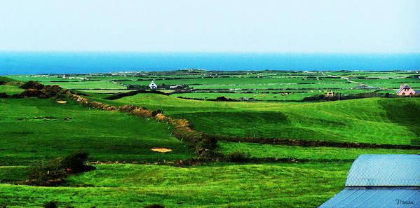 Ireland Poster featuring the photograph Atlantic View Doolin Ireland by Teresa Mucha