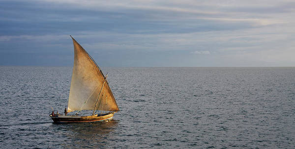 Dhow At The Coast Of Nosy Be, Madagascar Poster by Altrendo Travel
